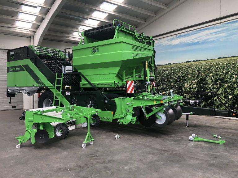 AVR présente nouveau cadre avant à l'occasion de Potato Europe 2019