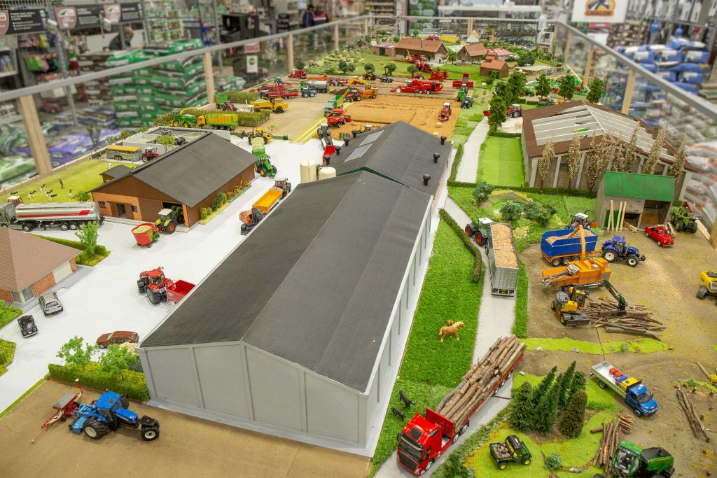 Un diorama de 50m² construit dans les moindres détails !