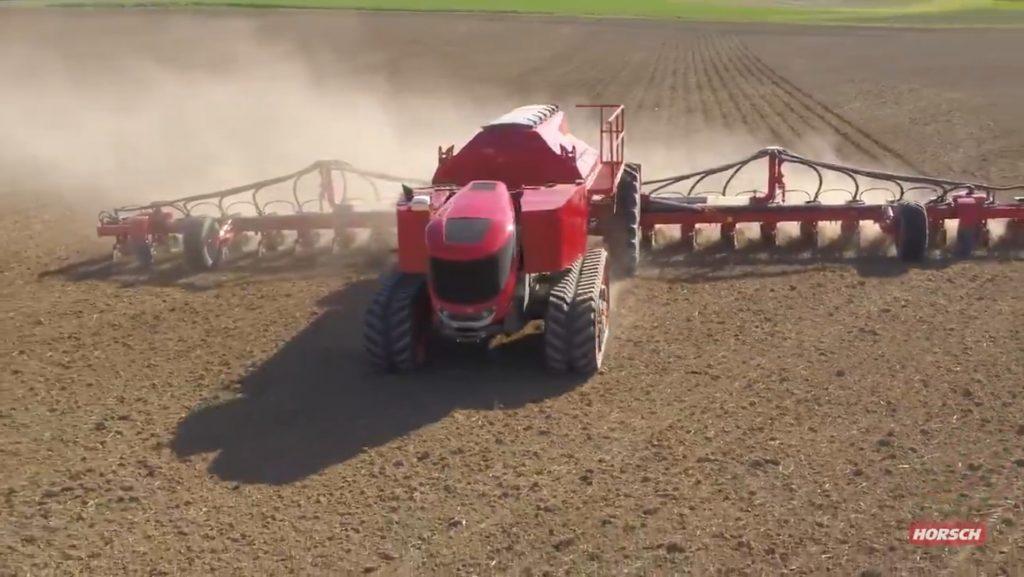 Horsch passe aux essais sur le terrain avec son robot