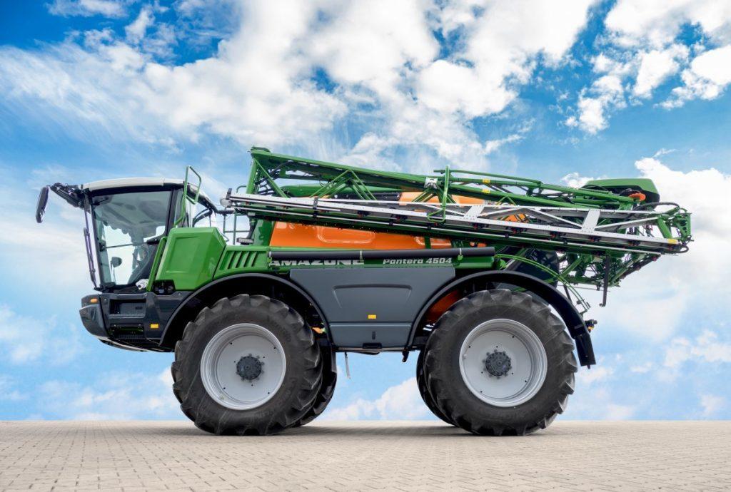 Plus de facilité d'utilisation pour le nouveau Amazone Pantera 4504