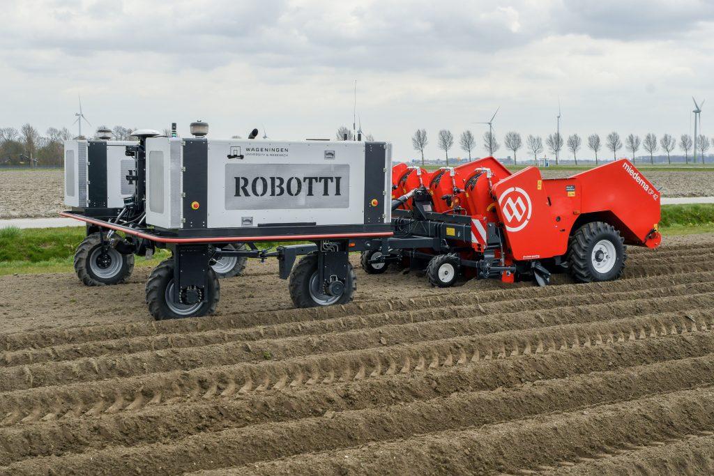 Dewulf et Agrointelli travaillent ensemble à une solution autonome