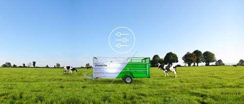 Configurez vous-même votre bétaillère ou votre aérateur de prairie Joskin